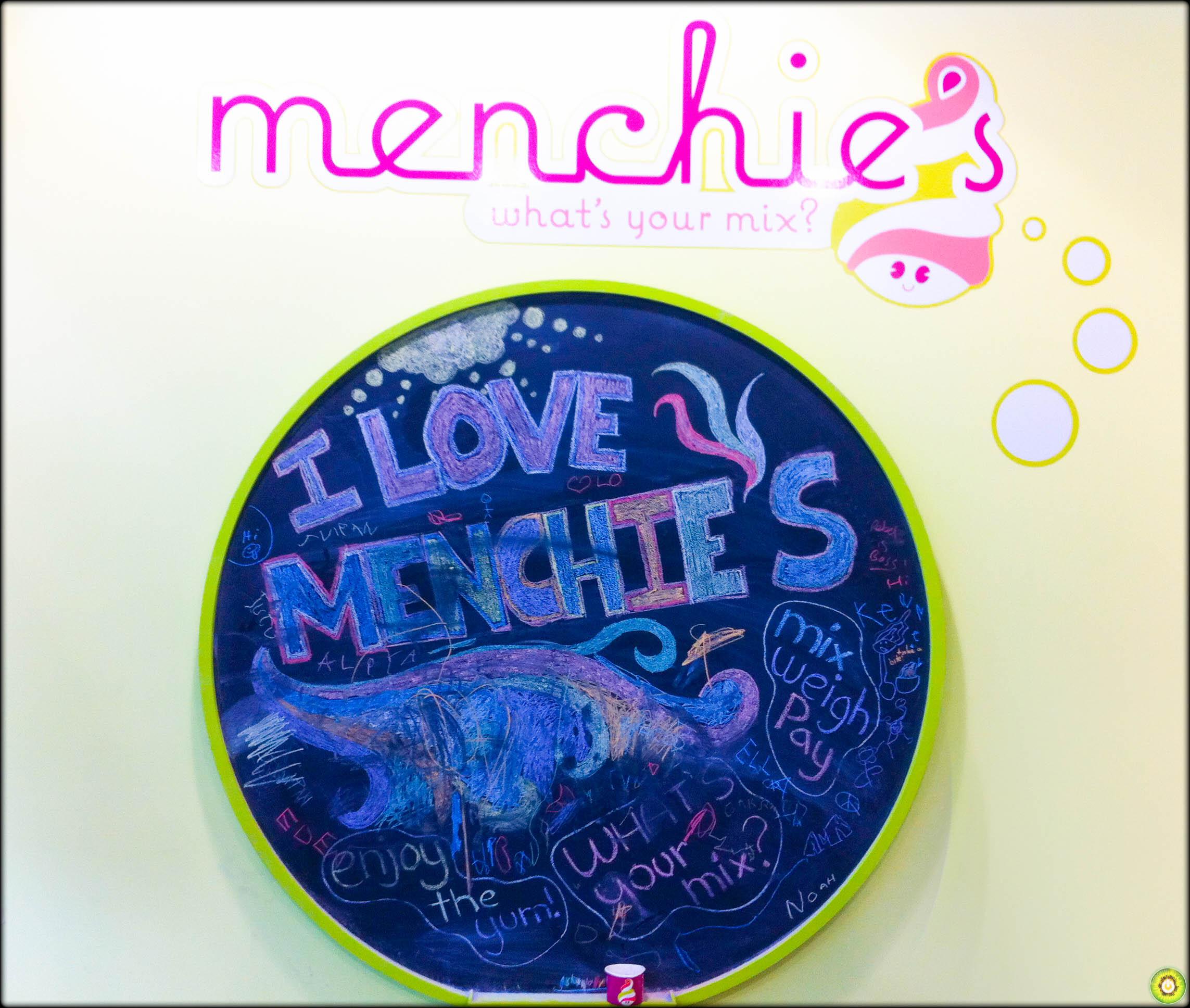 Menchies Froyo Cake