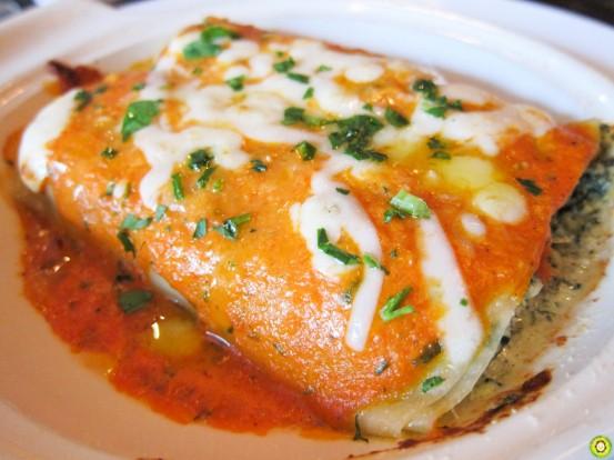 Chicken & Ricotta Cannelloni