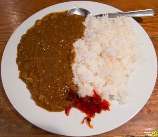 Japanese Curry on Rice