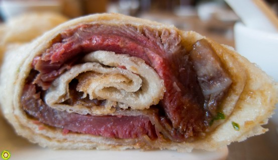 Sliced Beef Pancake