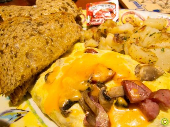 Farmer's Omelette Upclose
