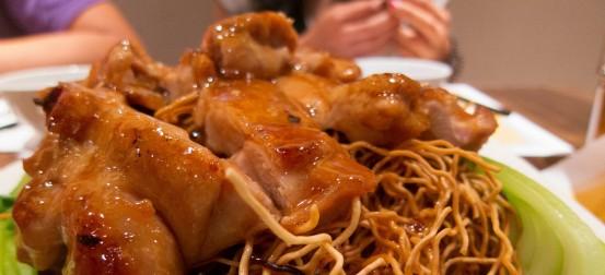Chicken Chow Mein Upclose
