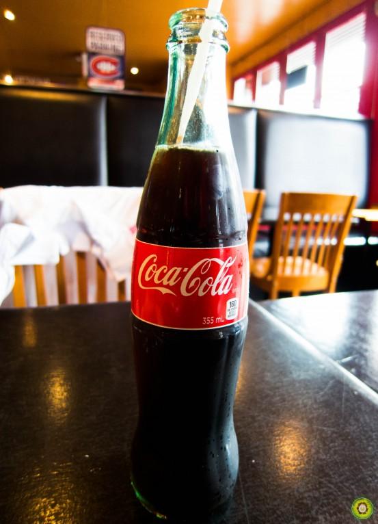 Glass Bottle of Coke