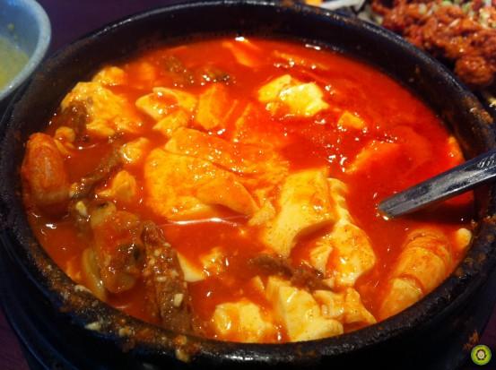 Beef Tofu Hot Pot