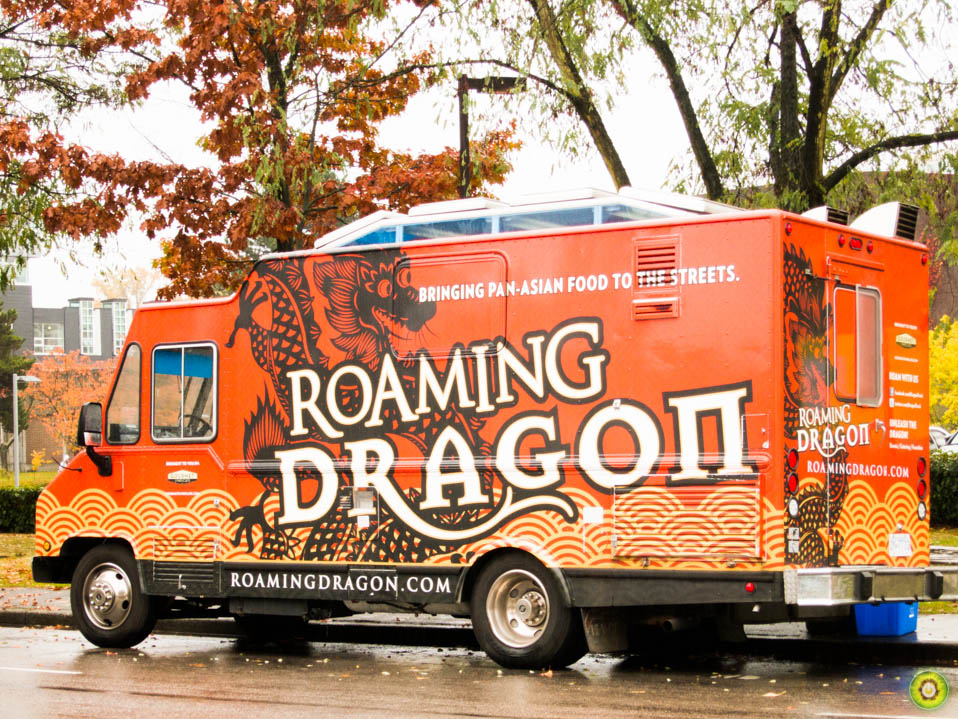 Roaming Dragon Food Truck Vancouver Menu