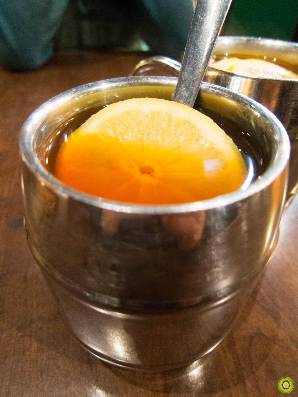 Hot Lemon Tea