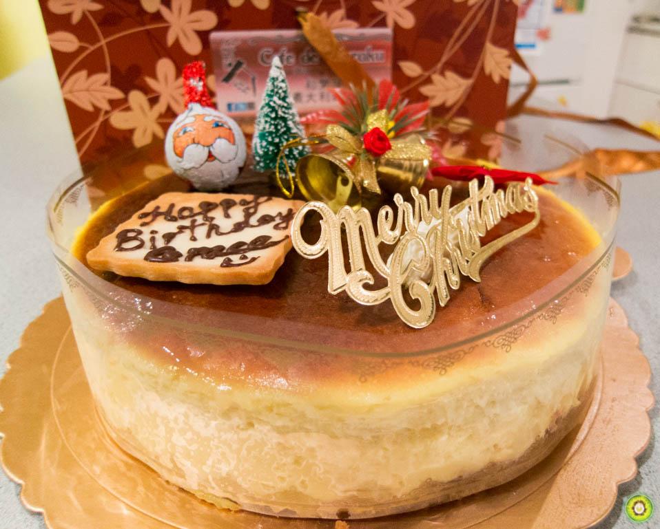 Durian Cheesecake