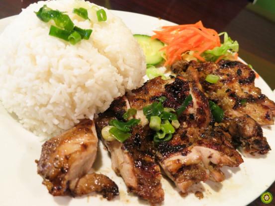 BBQ Lemongrass Chicken w/ Steamed Rice