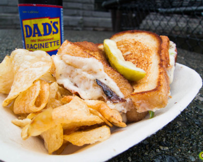 <strong>Mom&#8217;s Grilled Cheese:</strong> The Baby Daddy!