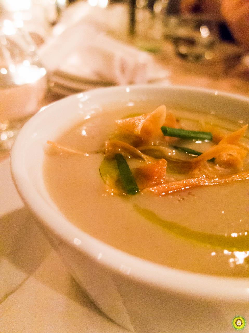 Sunchoke Soup