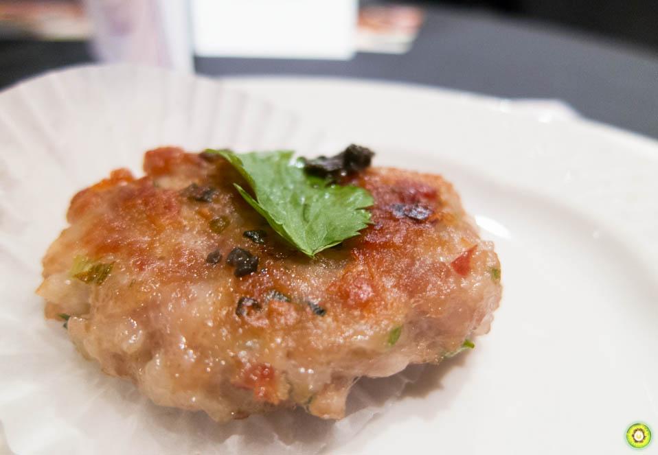 Pan-Fried Alberta Pork Patties w/ Black Truffle
