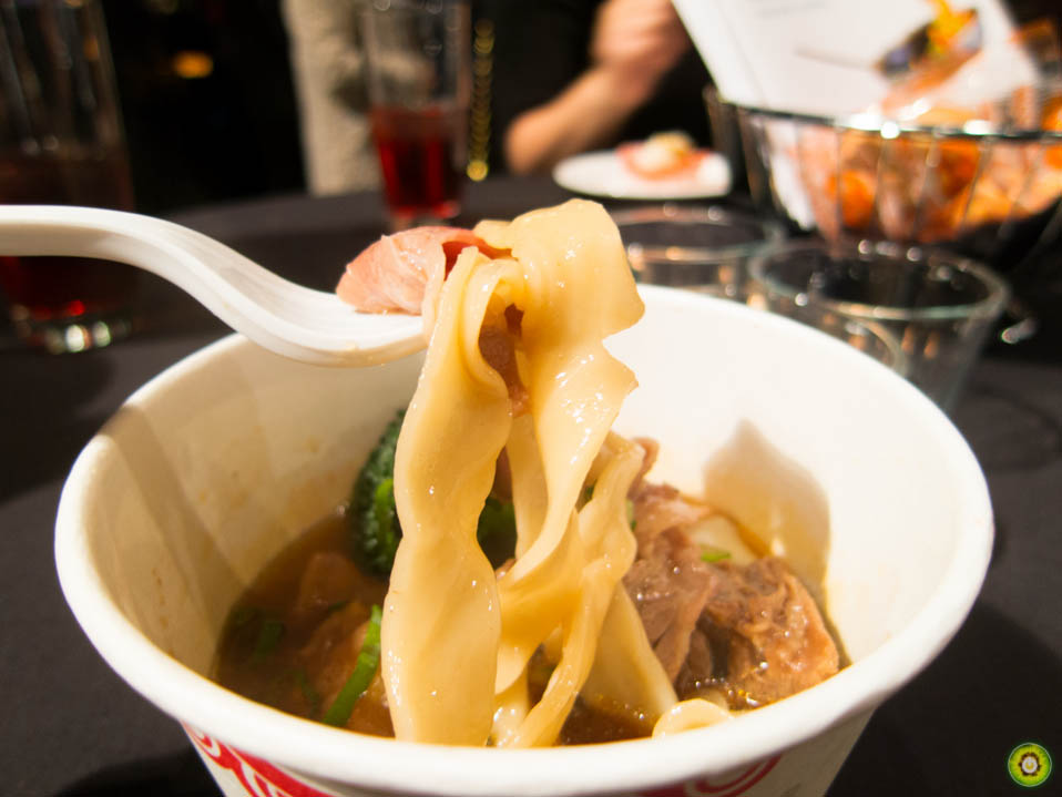 Beef Shank w/ Thick Noodles, Beef Tendon and Sliced Beef