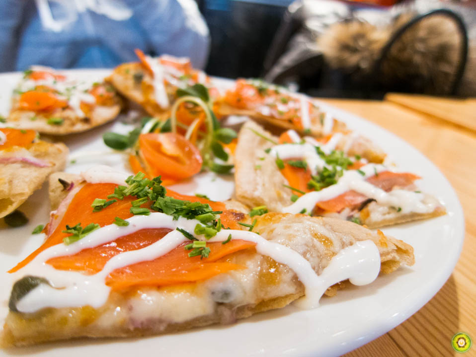 West Coast Salmon Flatbread