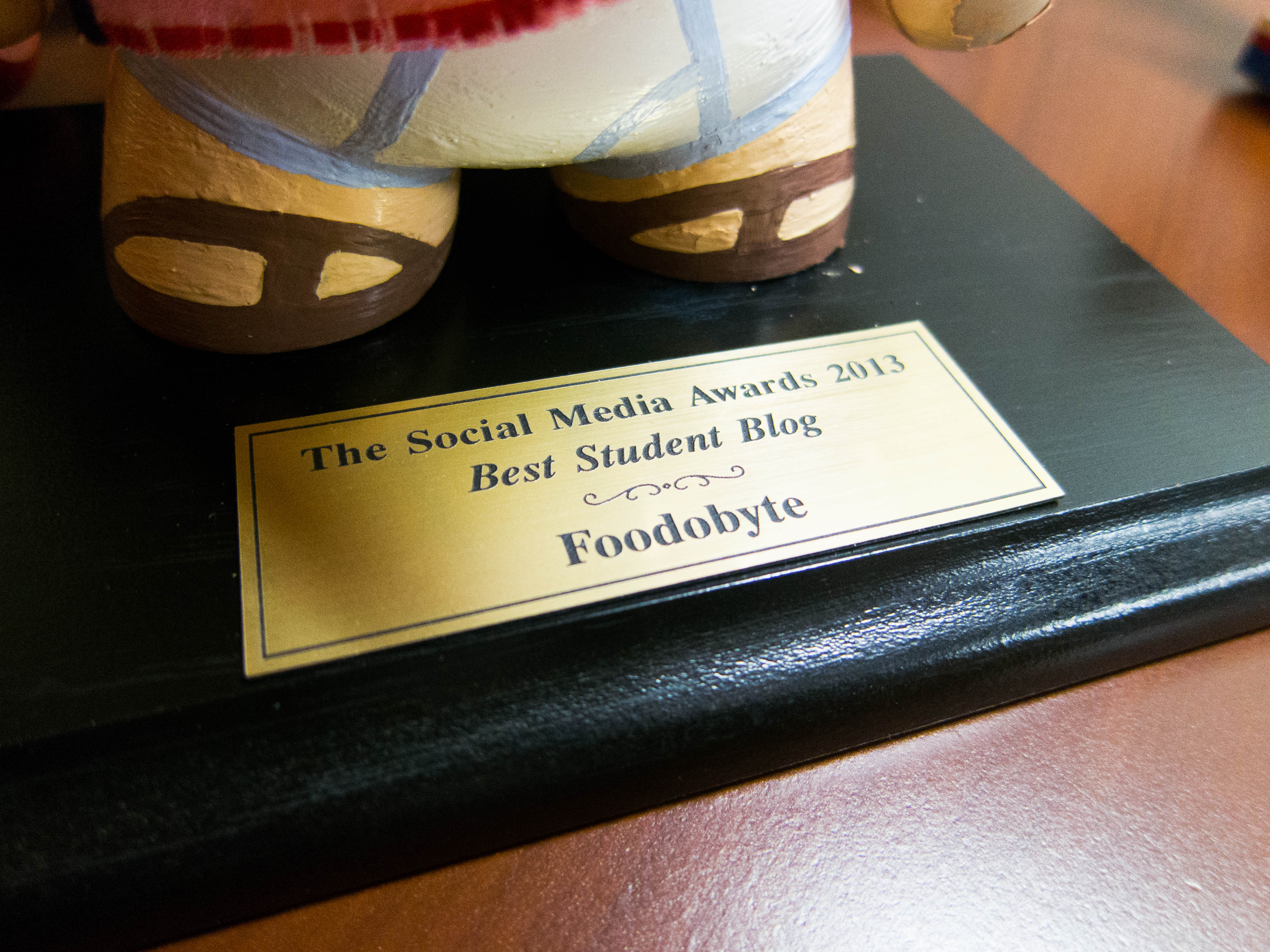 Best Student Blog Award