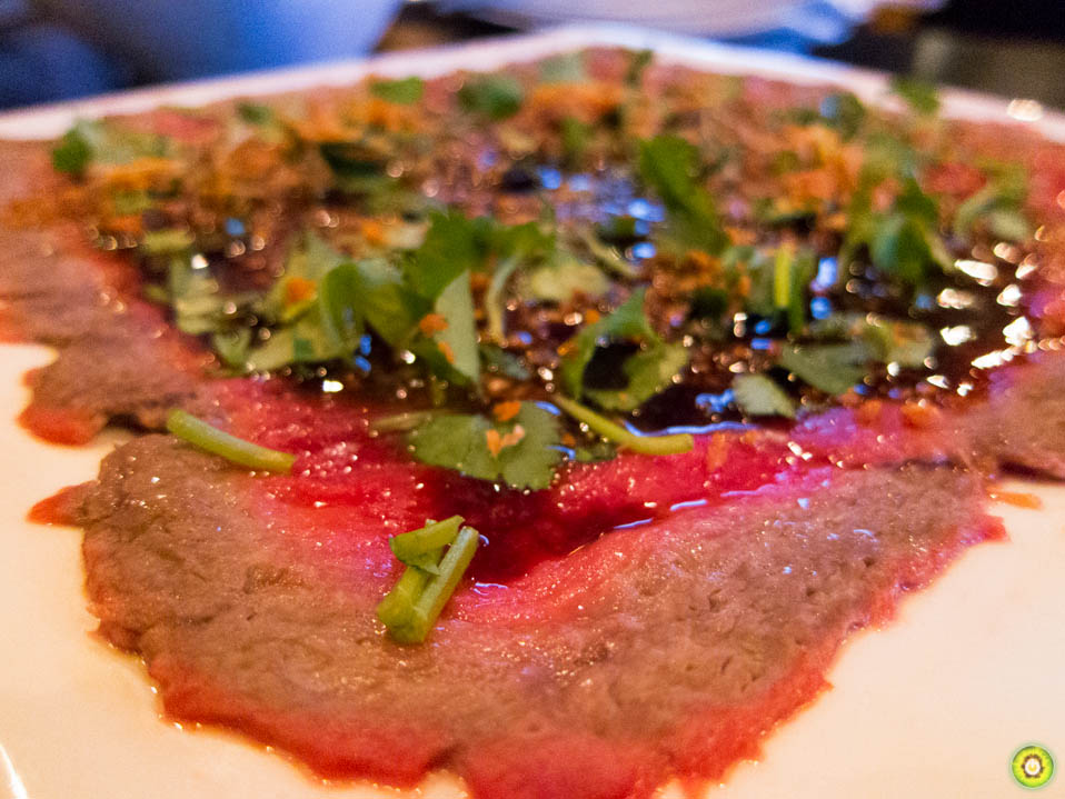 Butter Beef Carpaccio