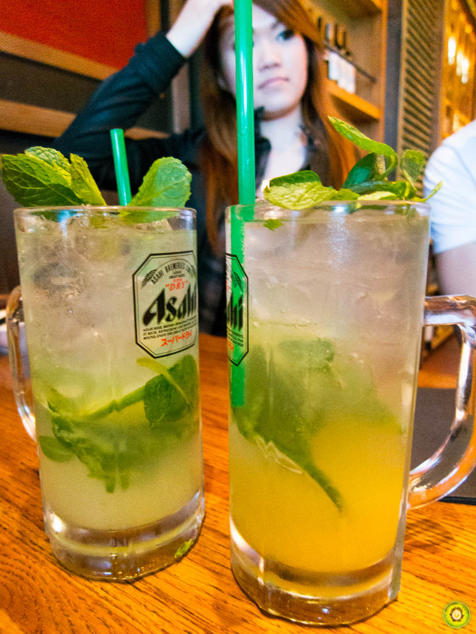Pineapple & Green Apple Mojitos
