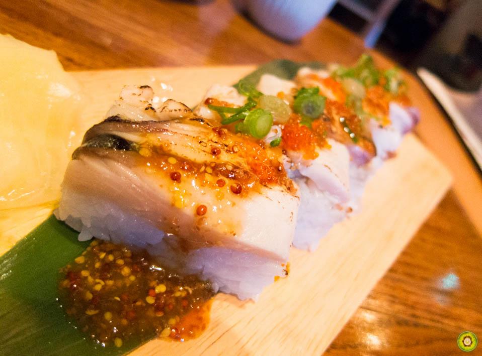 Aburi *Shime-Saba* Sushi