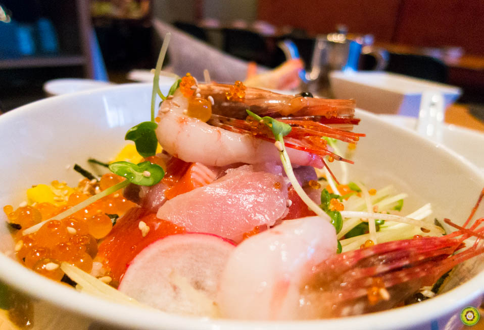 Fresh Sashimi Bowl