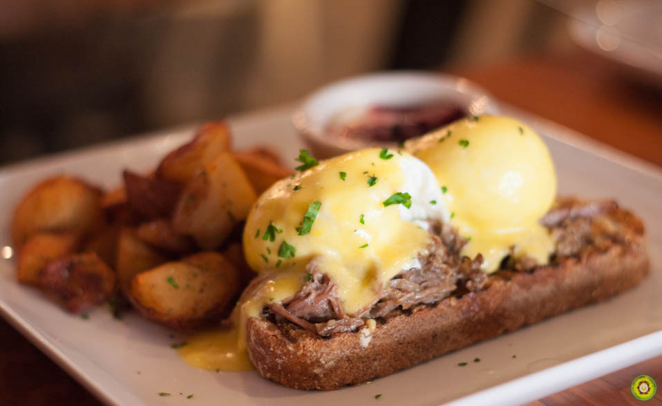 Braised Short Ribs Eggs Benedict