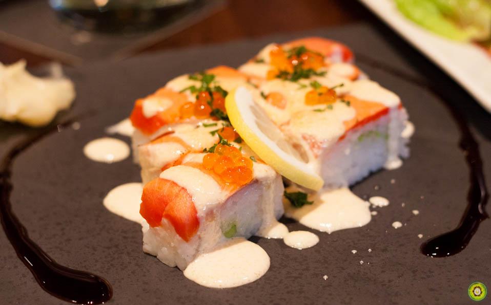 Salmon Battera