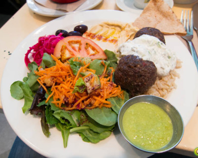 <strong>Nuba on Main St.:</strong> Lebanese Lunch!