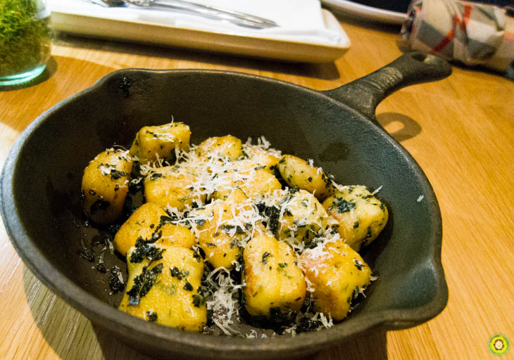 Nettle Gnocchi & Brown Butter