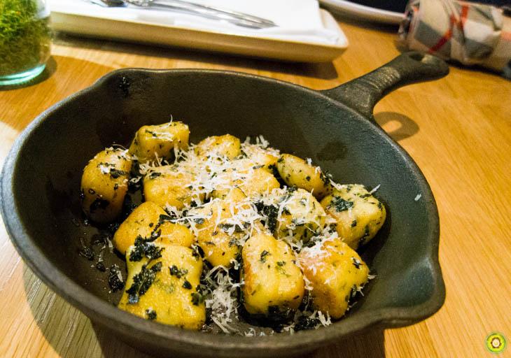 Nettle Gnocchi & Brown Butter