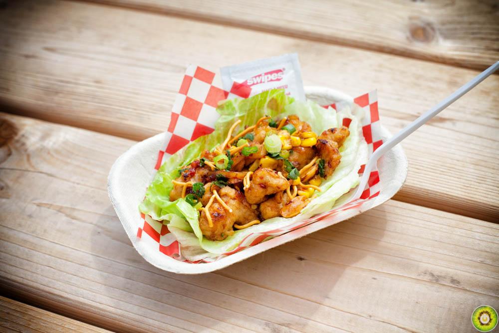 Eat Chicken Wraps Hoisin Chicken Roll Kung Pao Chicken