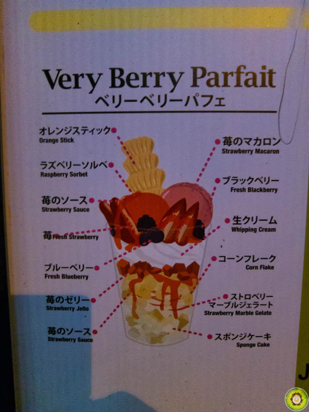 Very Berry Parfait Diagram
