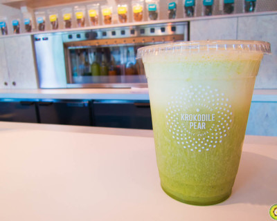 <strong>Krokodile Pear:</strong> Cold-Pressed Organic Juice Bar