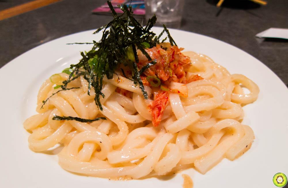 Cod Rose Kimchi Udon