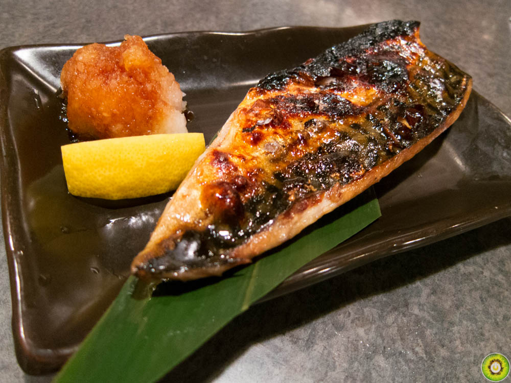 Grilled Saba Mackeral