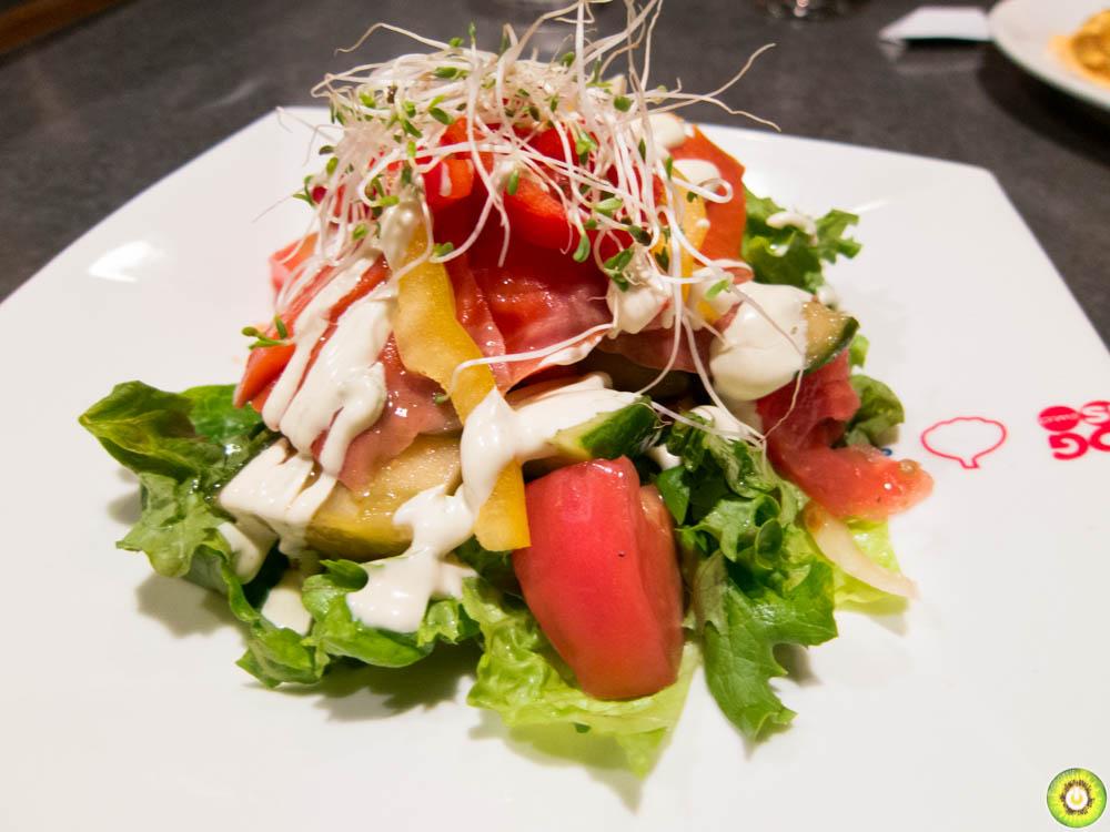 Salmon Tomato Salad
