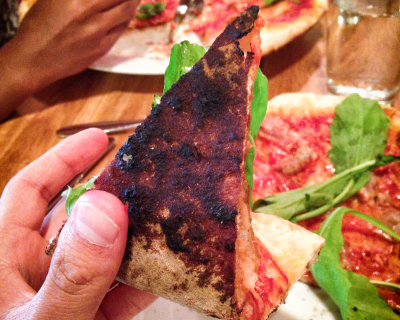 <strong>Campagnolo:</strong> Burnt Pizza :(