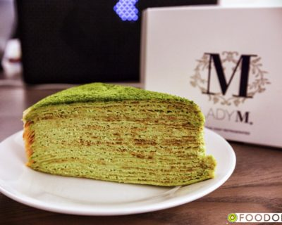 <strong>[NYC] Lady M:</strong> Green Tea Mille Crepes